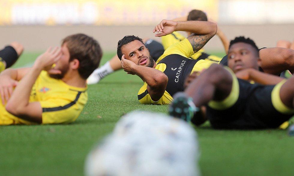 Trénink FC Kairat Almaty v Olomouci