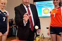 Zahájení výstavy k 60 letům ženského volejbalu v Olomouci ve Vlastivědném muzeu