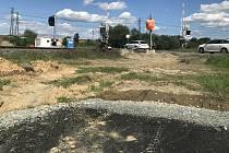 Stavba cyklostezky Litovel - Uničov zavře silnici II/499 v Července. 25.8.2020