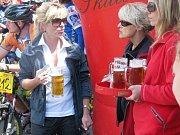 Cyklistický závod Pomoravím, start a cíl v litovelském pivovaru