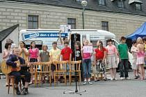 Děti vystoupily na Dni s Deníkem ve Velké Bystřici.