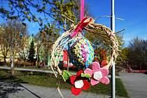 Loňský velikonoční strom
