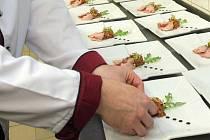 Příprava ochutnávkového menu