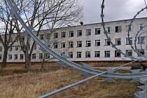 Bývalý vojenský areál v lokalitě mezi ulicemi Hněvotínská, Profesora Fuky a Mošnerova.