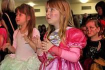Dětský karneval v kulturním domě v Bohuňovicích