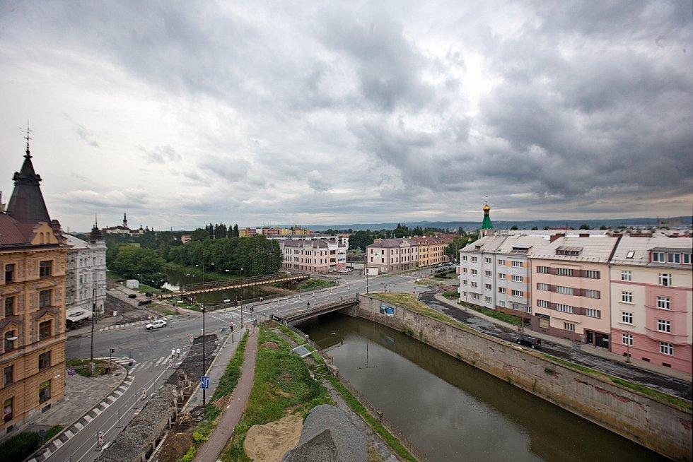 Most u Bristolu v květnu 2018