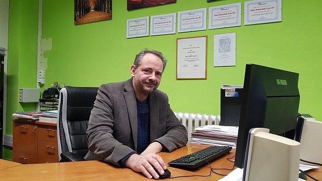 Ředitel Gymnázia Čajkovského Radek Čapka