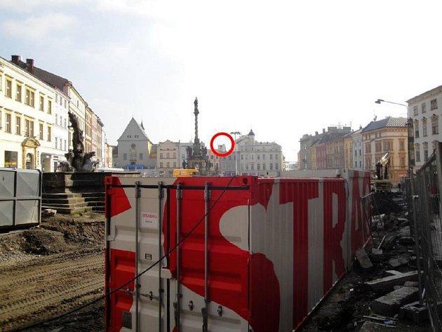 Šantovka Tower při pohledu zDolního náměstí - simulace SMC Development