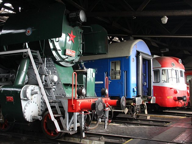 Železniční muzeum vOlomouci