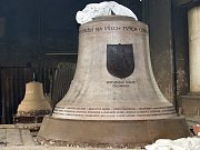 Model třetího zvonu  pro olomoucký chrám sv. Michala.