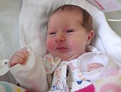 Vendula Fréharová, Olomouc, narozena 31. března v Olomouci, míra 50 cm, váha 2990 g.