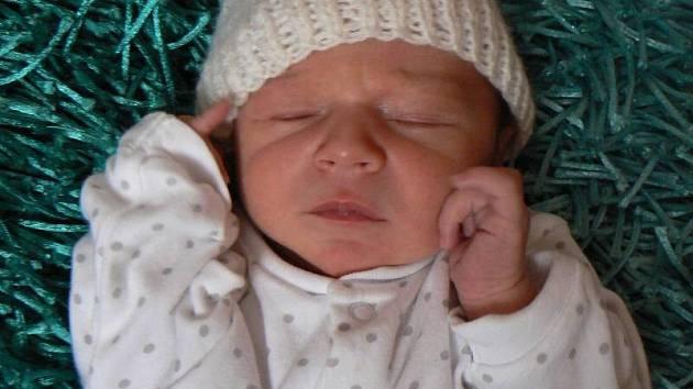 Kryštof Stejskal, Horka nad Moravou, narozen 4. ledna ve Šternberku, míra 50 cm, váha 3600 g.