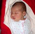 Amálie Bryknerová, Olomouc, narozena 9. dubna, míra 49 cm, váha 3070 g