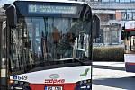 Přísná opatření se týkají také autobusů, nejen těch městských