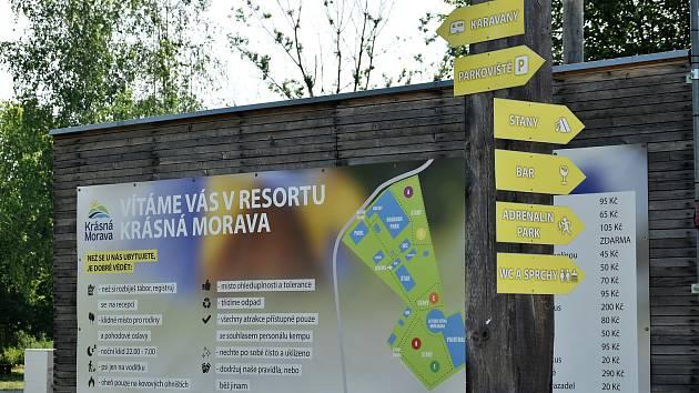 Olomoucký kemp Krásná Morava