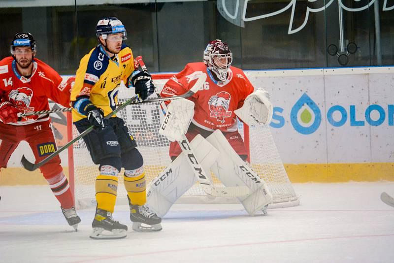 Olomoučtí hokejisté porazili v 9. kole Tipsport extraligy soupeře ze Zlína.