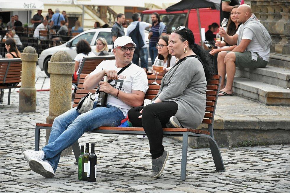 Olomoucké vinné slavnosti 2020 na Dolním náměstí, 24. 7. 2020