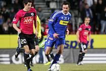 Michal Ordoš (v modrém)