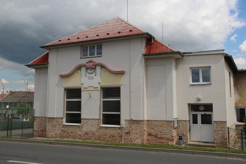 Sokolovna v Křelově