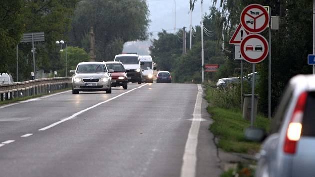 Změna dopravní situace na I/46 v Týnečku