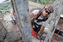 Oprava vyhlídkové věže v olomoucké zoo