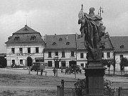 Náměstí ve Městě Libavá (Stadt Liebau)
