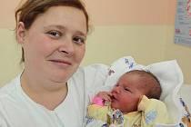 Amálka Fraňková, Olomouc, narozena 9. prosince v Olomouci, míra 52 cm, váha 3850 g.