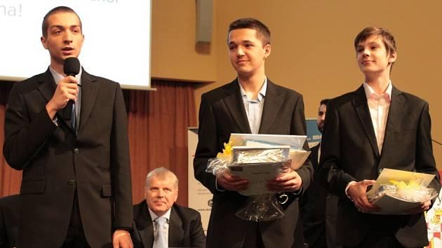 První místo v kategorii Naše cesty jsou inovace získali Marek Suchánek, Pavel Krupař a Radek Smolka z Gymnázia Jana Blahoslava s Střední pedagogické školy Přerov