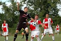 1. HFK Olomouc (v černém) vs. Orlová