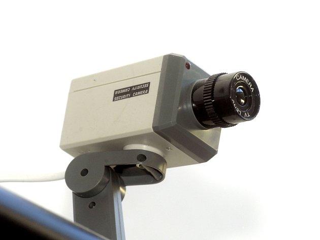Ve městě je stále větší počet kamer.