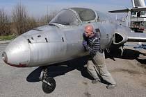 Nový přírůstek olomouckého Leteckého muzea - L-29 Delfín