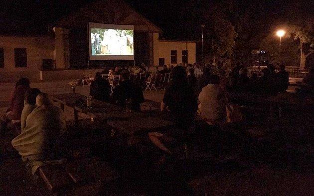 Letní kino vNáměšti na Hané
