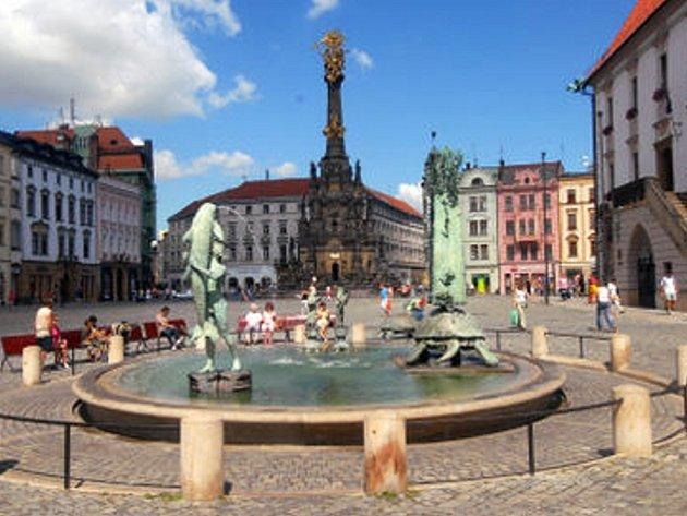 Horní náměstí v Olomouci.