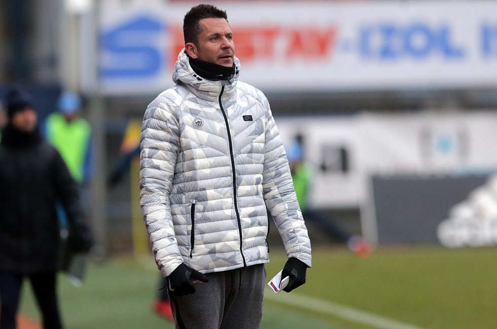 Trenér Slovan FC Liberec David Holoubek.