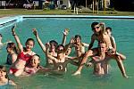 Prázdninový tábor u Domašova nad Bystřicí