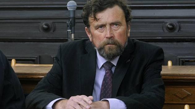 Náměstek olomouckého primátora Ivo Vlach u okresního soudu