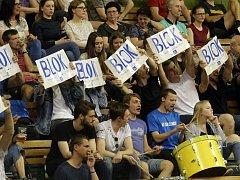 Olomoučtí fanoušci dokáží ve sportovní hale rozjet pořádné tóčo