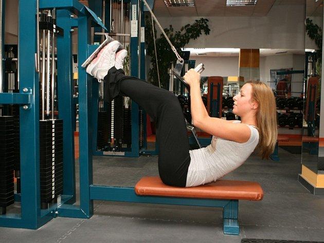Po vánočních svátcích jsou fitness centra vždy přeplněná.