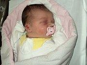 Amálie Čížková, Šternberk, narozena 19. září ve Šternberku, míra 50 cm, váha 4040 g