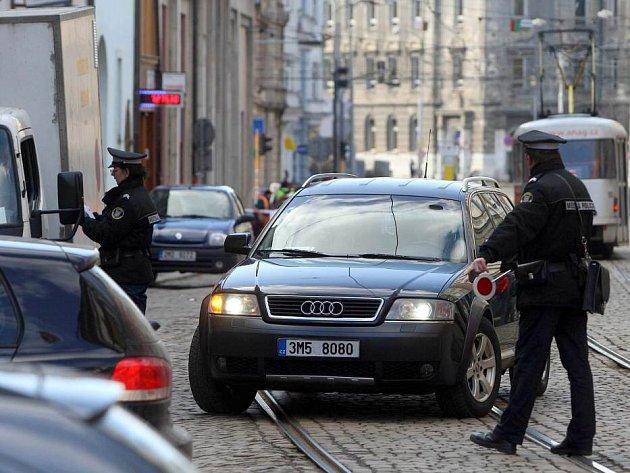 V pondělí 27.2. začala více jak dvou měsíční uzavírka frekventované ulice 8.května v centru Olomouce
