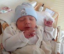 Jakub Urban, Olomouc, narozen 28. října v Olomouci, míra 50 cm, váha 3440 g.
