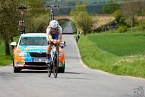 Olomoučtí cyklisté se prosadili na Závodě míru nadějí.