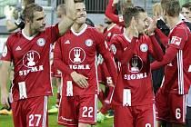 Fotbalisté Sigmy Olomouc. Ilustrační foto