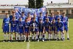 Akademie Cup, turnaj O pohár Karla Poborského v kategorii hráčů do 15 let v Olomouci. Stříbrný tým Glasgow Rangers.