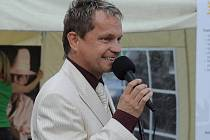 Moderátor a herec Marek Zahradníček