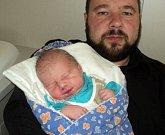 Vojtěch Januš, Plinkout, narozen 11. dubna ve Šternberku, míra 51 cm, váha 3520 g
