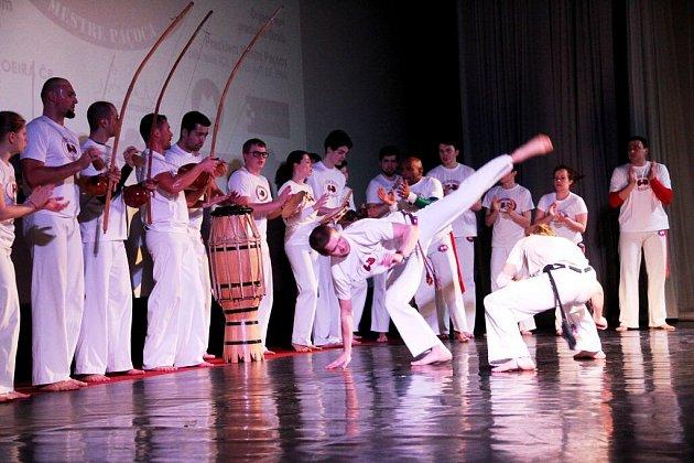 Festival de Capoeira volomouckém kině Metropol