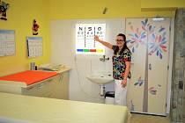 Nová ordinace obvodního lékaře pro děti a dorost v Nemocnici Šternberk.