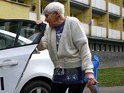 Senior taxi. Ilustrační foto