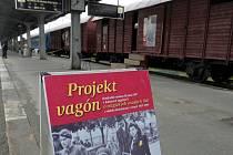 Projekt Vagón zastavil na olomouckém nádraží